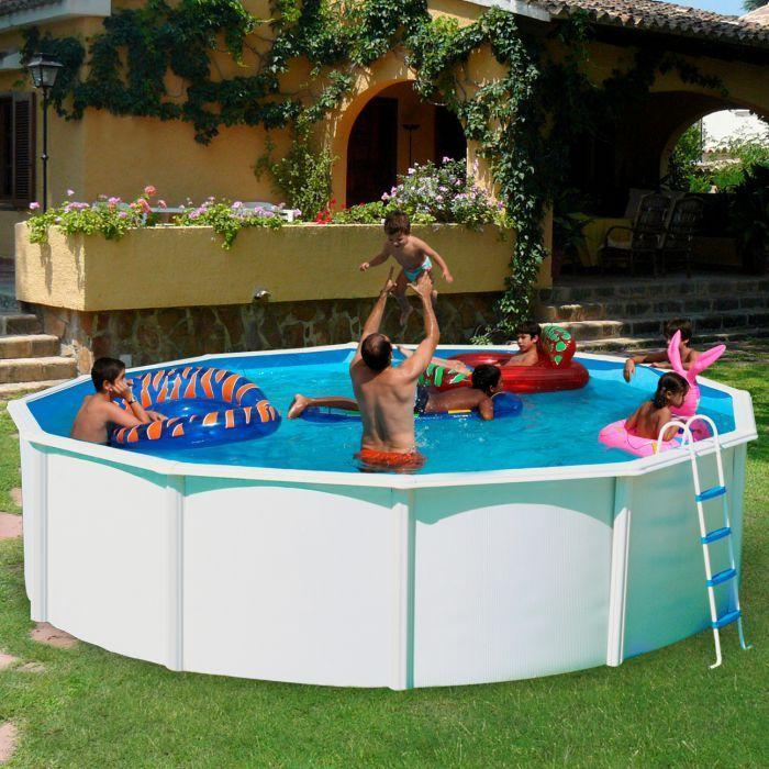 white coral steel pool x steel pools. Black Bedroom Furniture Sets. Home Design Ideas