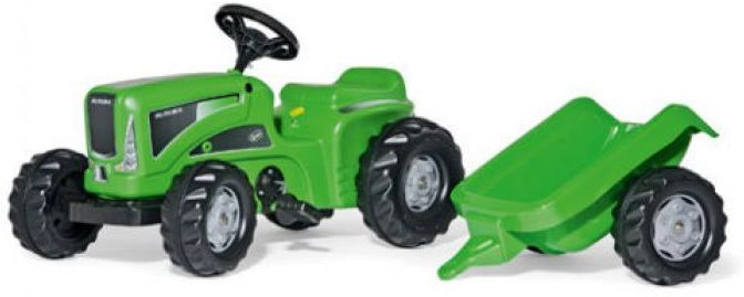 Rolly Rolly Kiddy Futura Tractor With Rolly Kid Trailer Thumnail #1