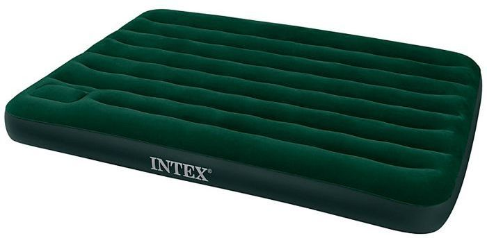 intex full size easy inflate downy air bed 75 x 54 air beds and pillows. Black Bedroom Furniture Sets. Home Design Ideas