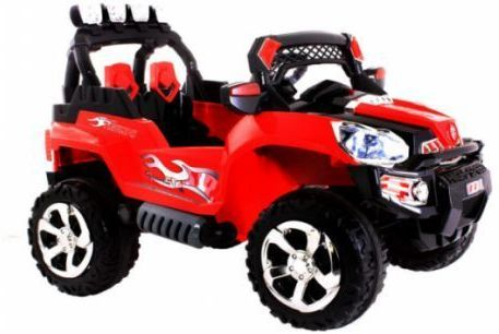 Kids Twin 6V Sand Scorcher Style Ride On Car With Remote Control Thumnail #1