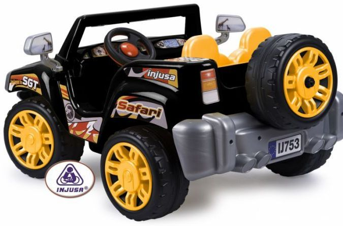 Injusa Safari Pick-Up Two Seater Jeep - 12 Volt Thumnail #1