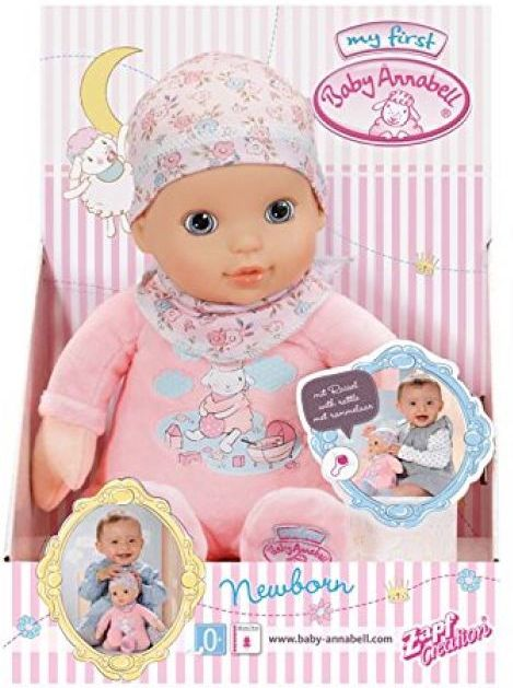 Creation Baby Annabell Newborn Doll by Zapf - Dolls