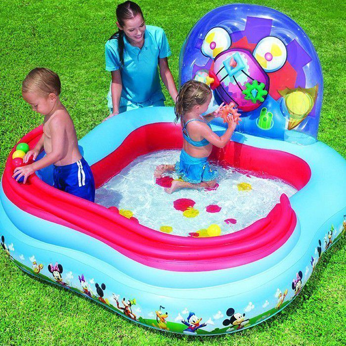 "Mickey Mouse Clubhouse Paddling Pool 63"" - 91015 Thumnail #1"