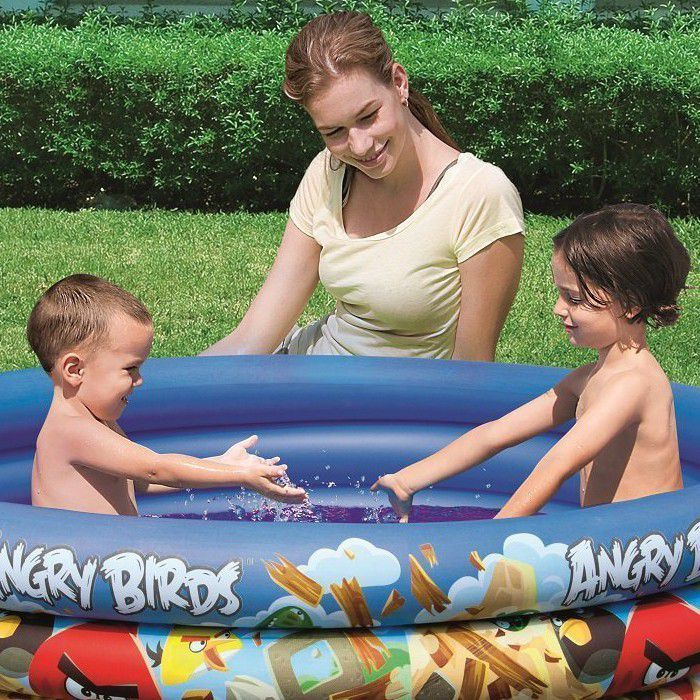 Angry Birds 3 Ring Paddling Pool - 96108 Thumnail #1