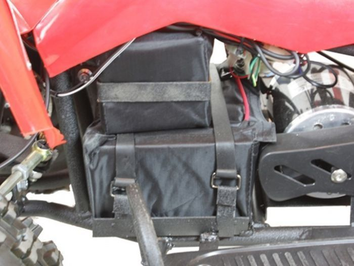 Electric 500w 36v Quad Bike - Red Thumnail #1