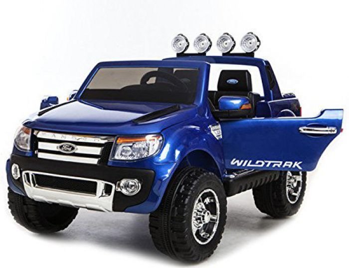 Ford Ranger Licensed 12v Ride On - Blue Thumnail #1