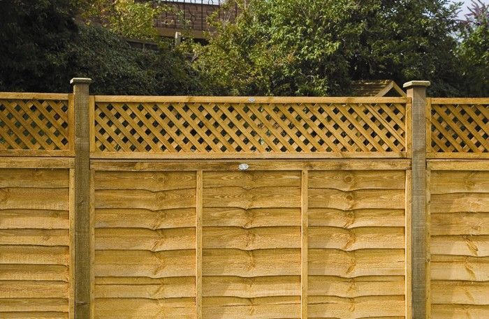 Heavy duty diamond trellis grange trellis for Garden decking jewsons