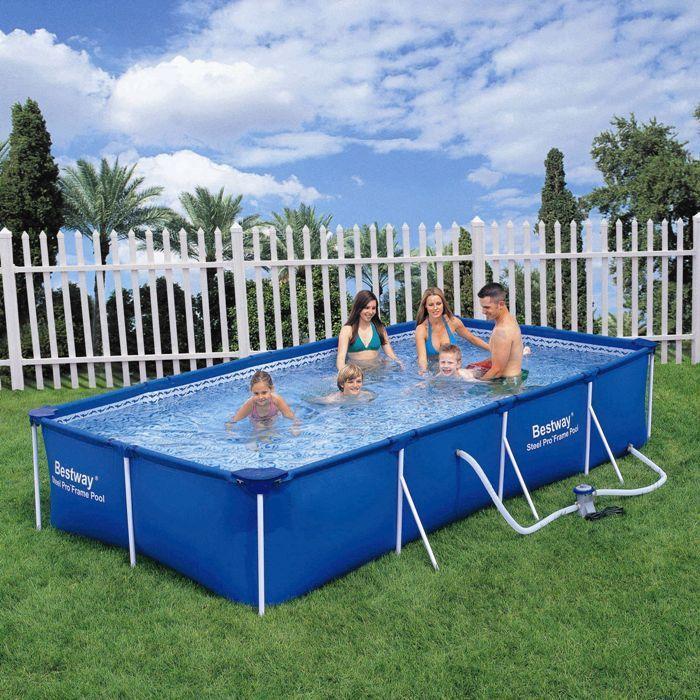 Paddling Pool 157 Quot Bestway Rectangular Frame Pool