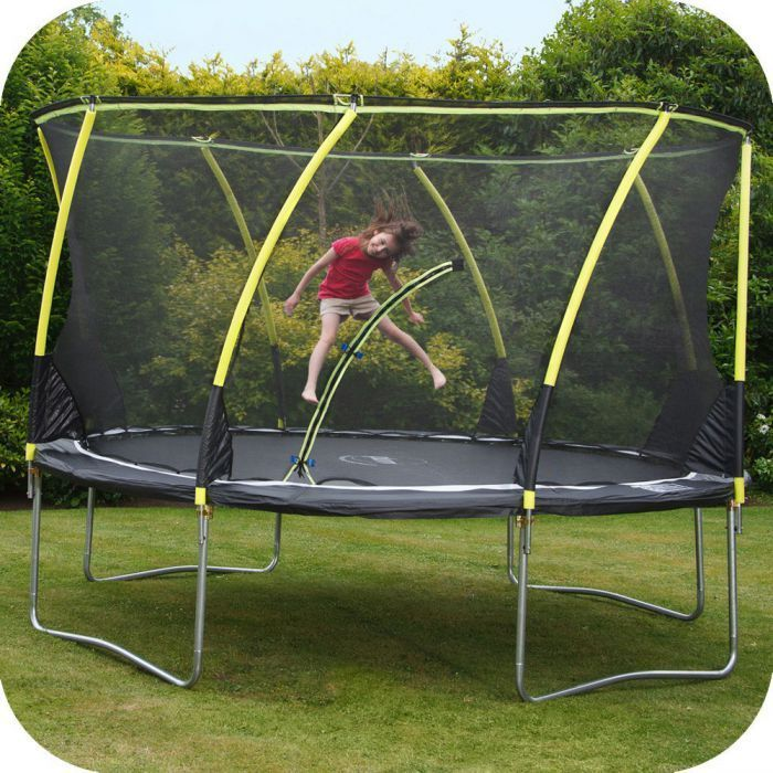 Plum® 14ft Whirlwind Trampoline And 3G® Enclosure
