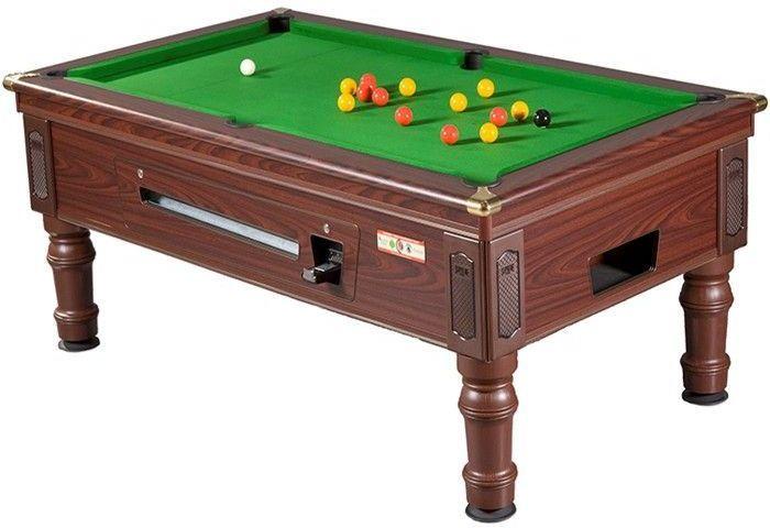 Prince slate bed 8 foot pool table for 1 slate pool table