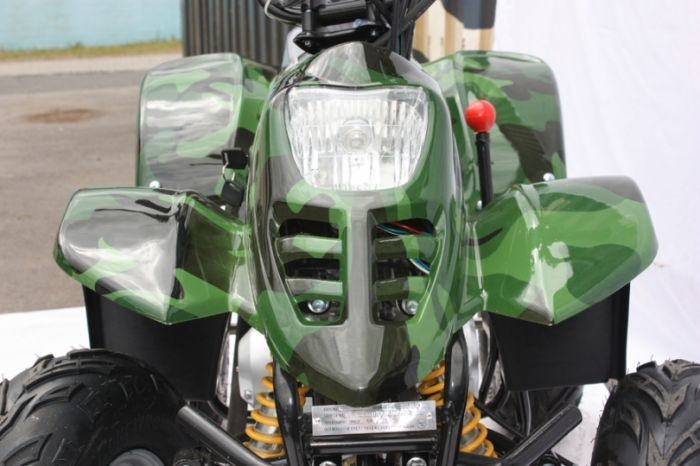 Thunder Cat 110cc 4 Stroke Quad Bike - Camo Thumnail #1