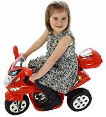 Childrens Trike 6v Ride On Toy - Red Thumnail #1