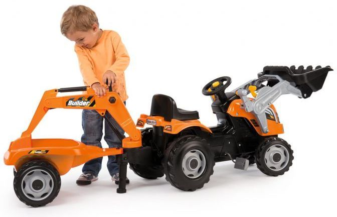Simba Smoby Builder Max Tractor Thumnail #1