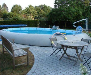 Zodiac ovline original oval pool 7m x 5m inflatable pools for Piscine zodiac ovline