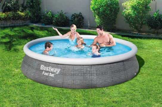 Bestway Fast Set Round Inflatable Pool 13ft X 33 Quot