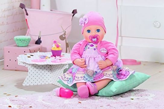Baby Annabell 700600 Special Day Doll Interactive, 43cm ...