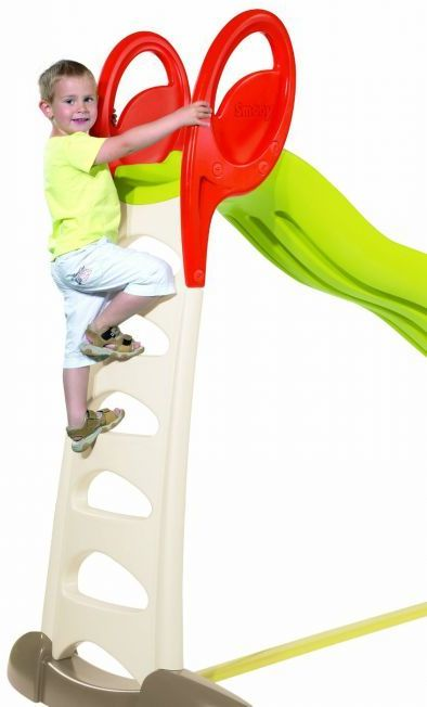 Simba smoby 2 in 1 megagliss slide giant garden games for Scivolo smoby megagliss 2 in 1