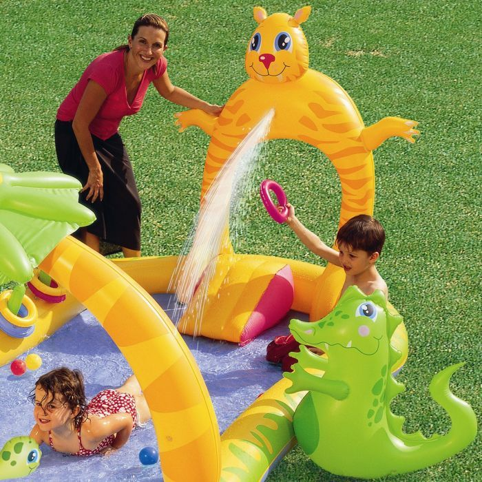 Jungle Safari Play Centre Paddling Pool - 53030 Thumnail #2