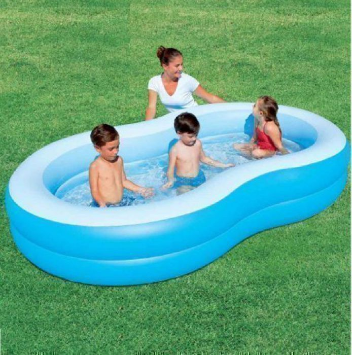 The big lagoon family paddling pool 103 54117 for Large paddling pool