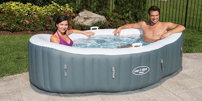 lay z spa siena airjet hot tub inflatable hot tubs. Black Bedroom Furniture Sets. Home Design Ideas