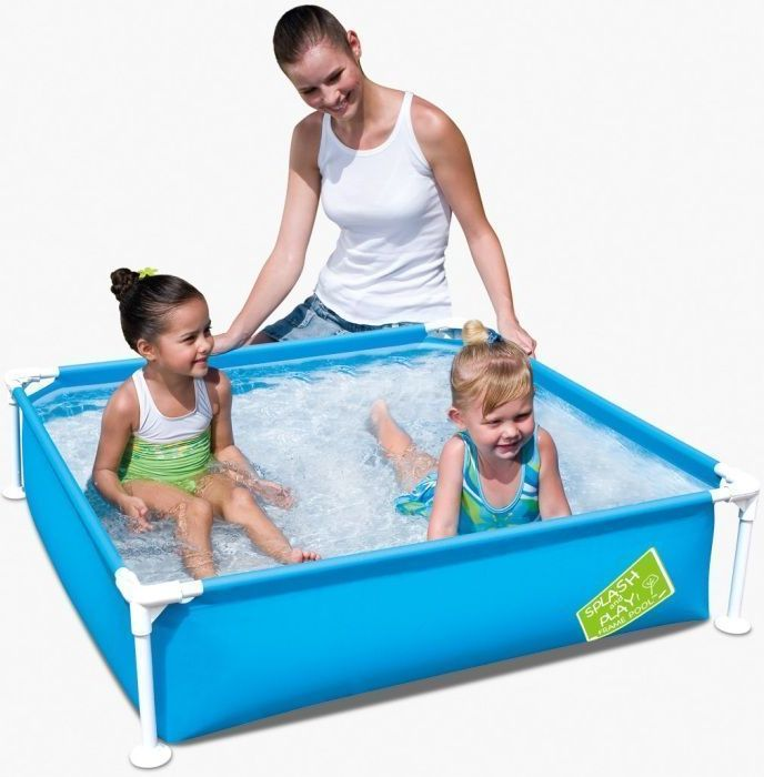 "Bestway My First Frame Pool 48"" x 48"" x 12"" - 56217 Thumnail #2"