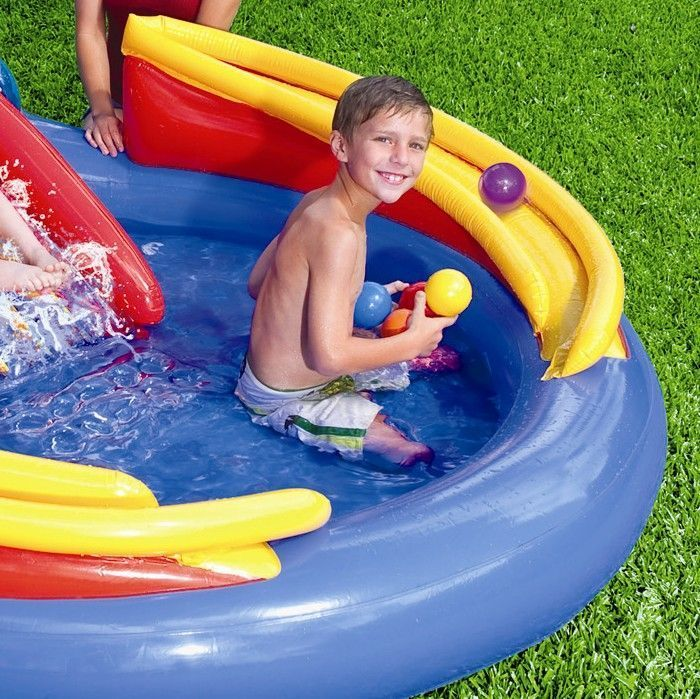 Rainbow Ring Play Centre Paddling Pool - 57453 Thumnail #2