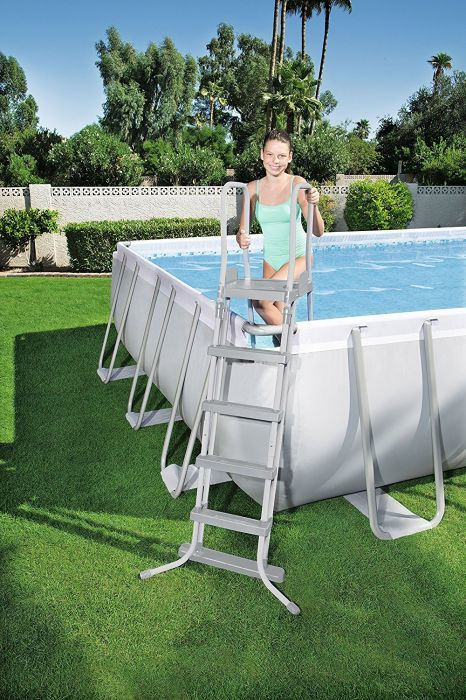 summer escapes pool ladder instructions
