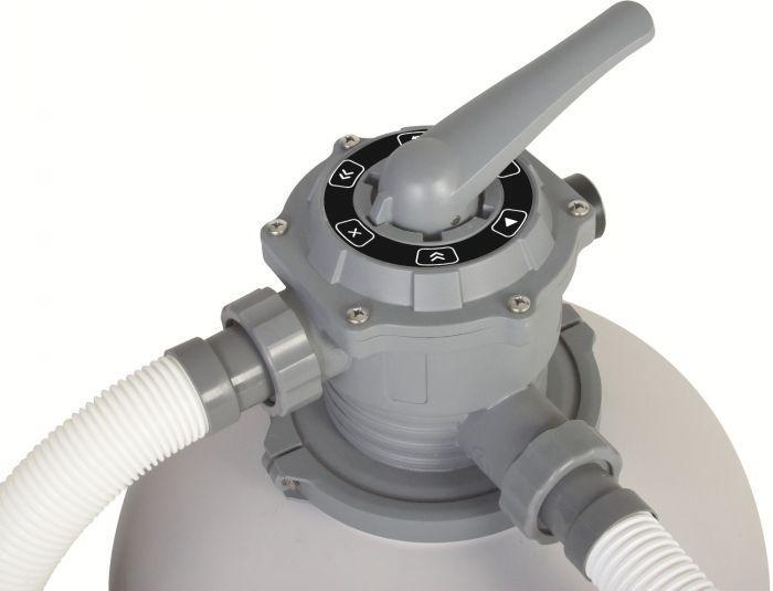 Bestway 2000 gallon flowclear sand filter pump pool for Bauhaus sandfilterpumpe