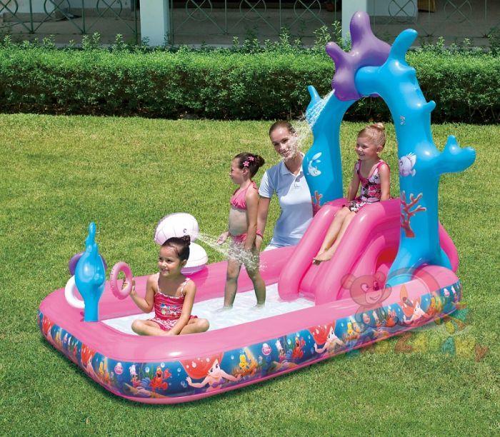 "Disney Princess Paddling Play Pool 98"" - 91051 - Inflatable Toys"