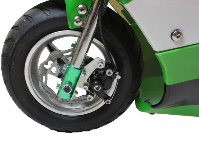 Electric Mini Moto 24V 300W Pocket Bike - Green Thumnail #2