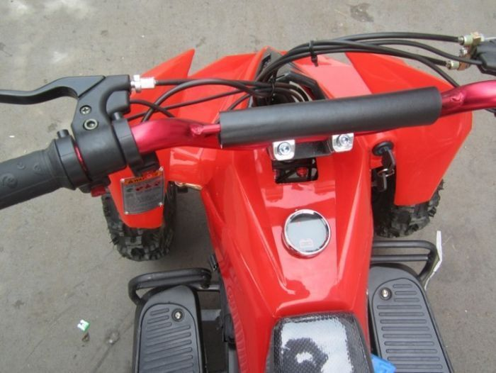 Electric 500w 36v Quad Bike - Red Thumnail #2