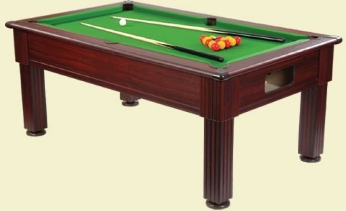Supreme prince slimline slate bed pool table slate bed for Supreme 99 table game