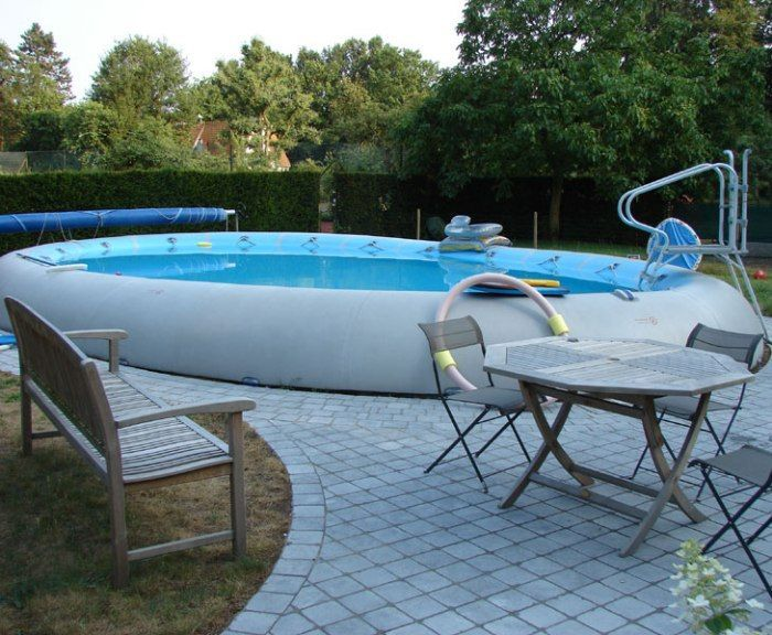 zodiac ovline original oval pool 7m x 5m inflatable pools. Black Bedroom Furniture Sets. Home Design Ideas