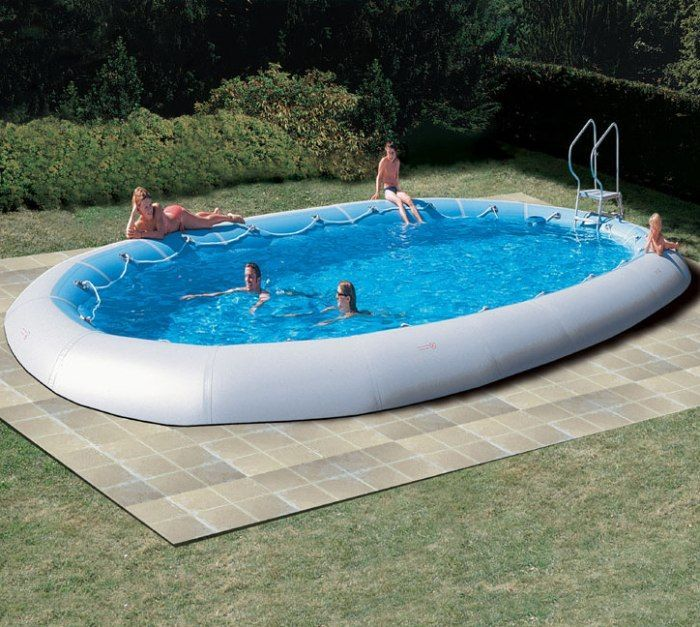 Zodiac ovline original oval pool x for Club piscine above ground pools prices