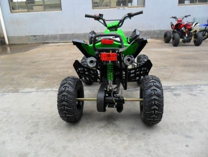 Predator 110cc 4 Stroke Quad Bike With Reverse - Green Thumnail #2