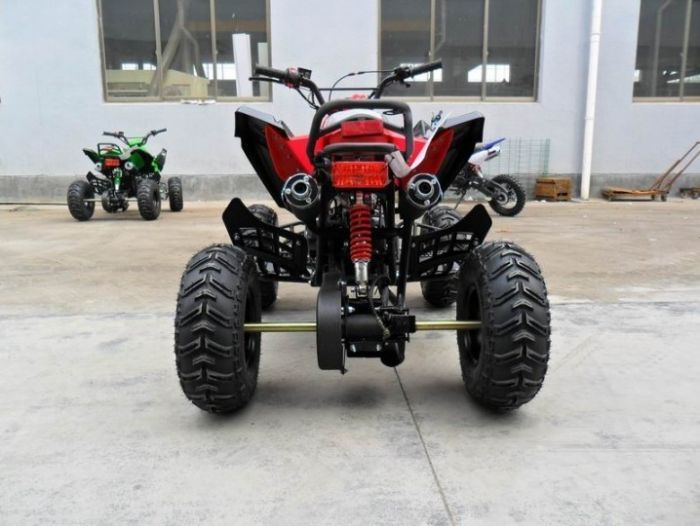 Predator 110cc 4 Stroke Quad Bike With Reverse - Red Thumnail #2