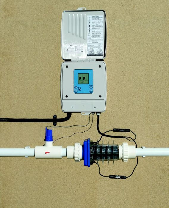 Aquablue Salt Chlorine Generator For Pools Up To 60m3 Pool Pumps Counter Current