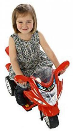 Childrens Trike 6v Ride On Toy - Red Thumnail #2
