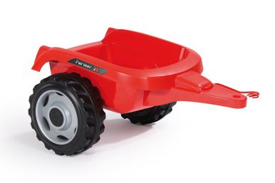 Simba-Smoby Farmer XL Tractor with Trailer (Red)