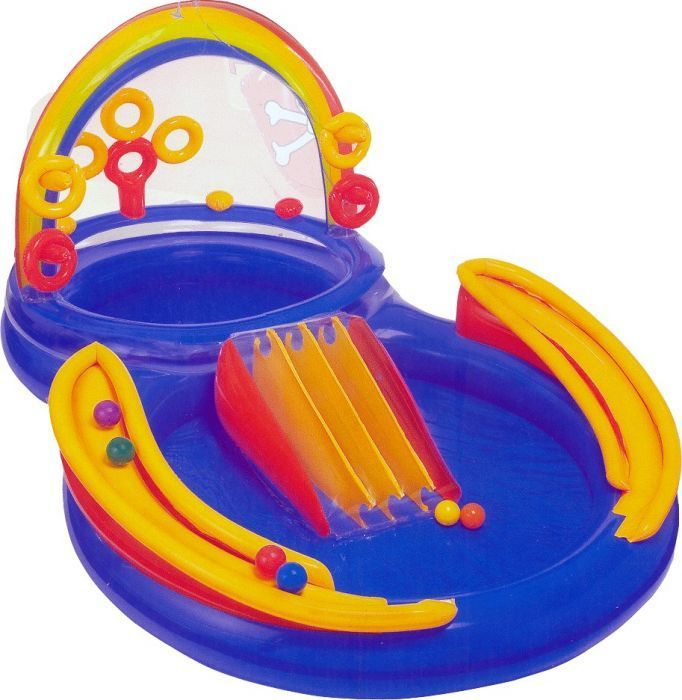 Rainbow Ring Play Centre Paddling Pool - 57453 Thumnail #3