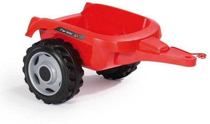 Simba-Smoby Farmer XL Tractor with Trailer (Red) Thumnail #3