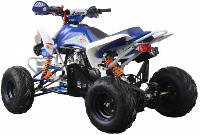 Interceptor 125cc 4 Stroke Quad Bike - Blue Thumnail #3