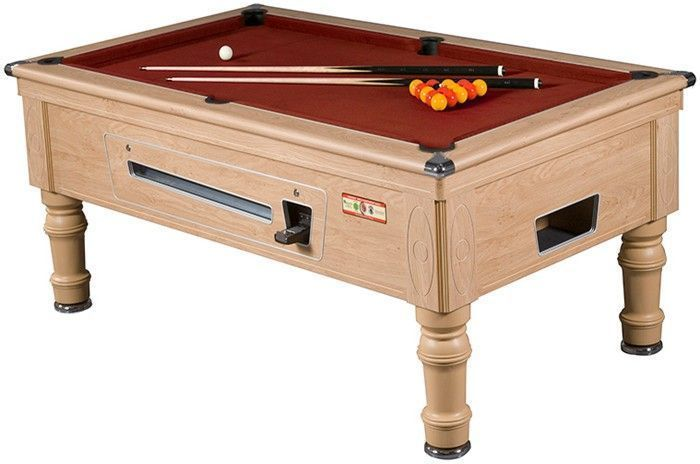 Prince slate bed 6 foot pool table for Pool table 6 x 3