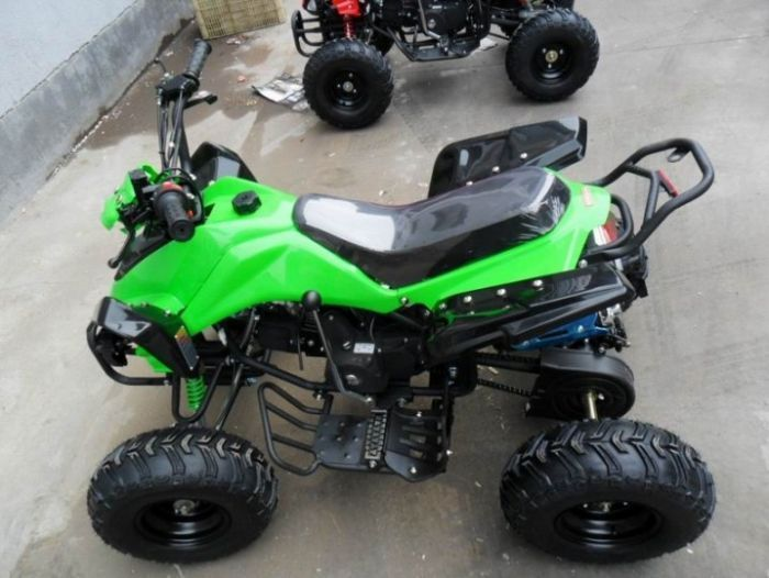 Predator 110cc 4 Stroke Quad Bike With Reverse - Green Thumnail #3