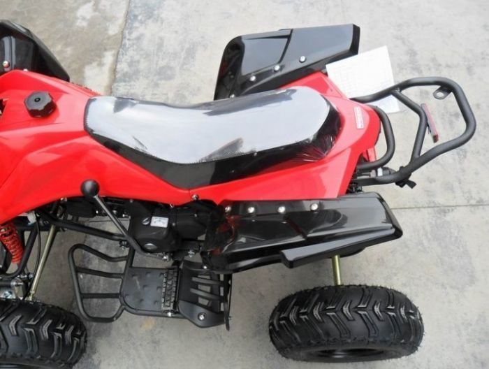 Predator 110cc 4 Stroke Quad Bike With Reverse - Red Thumnail #3