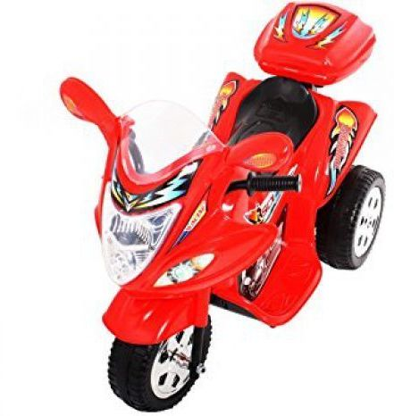 Childrens Trike 6v Ride On Toy - Red Thumnail #3