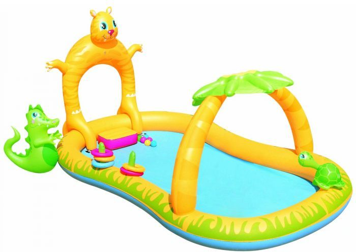 Jungle Safari Play Centre Paddling Pool - 53030 Thumnail #4