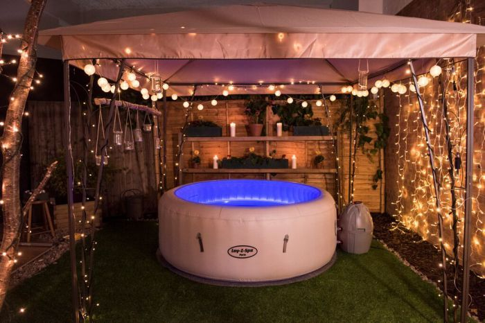 Lay Z Spa Paris Inflatable Hot Tub Inflatable Hot Tubs