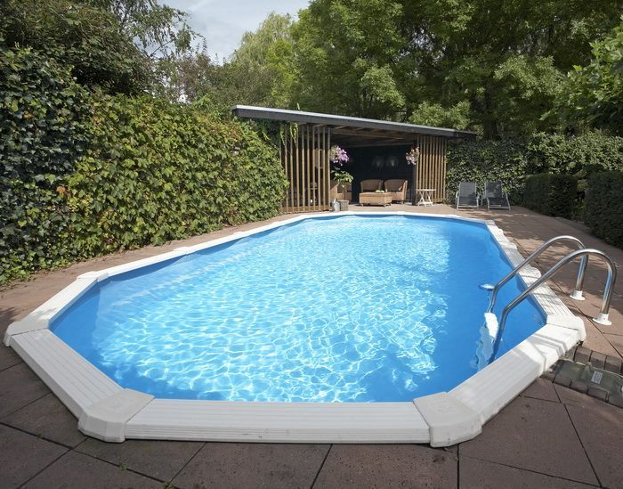 Doughboy premier oval steel pool 20ft x 12ft steel pools for Premier pools
