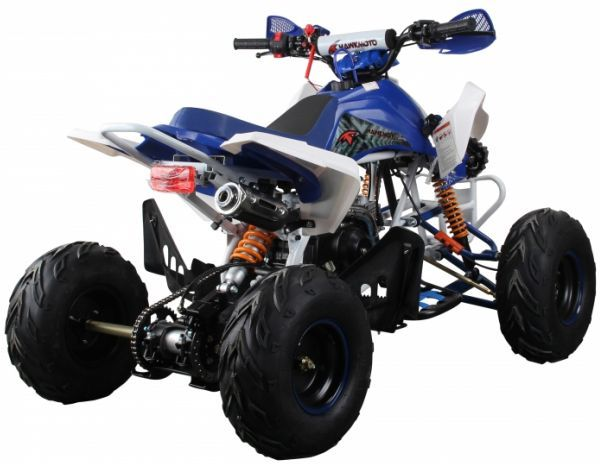 Interceptor 125cc 4 Stroke Quad Bike - Blue Thumnail #4